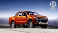 Новый Ford Ranger завоевал премию